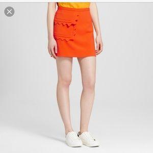 🆕️Skirts | Victoria Beckham x Target Orange Twill